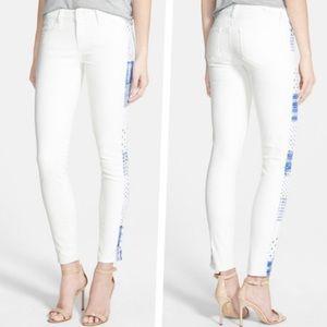 Paige Verdugo Ultra Skinny Moroccan White Jeans